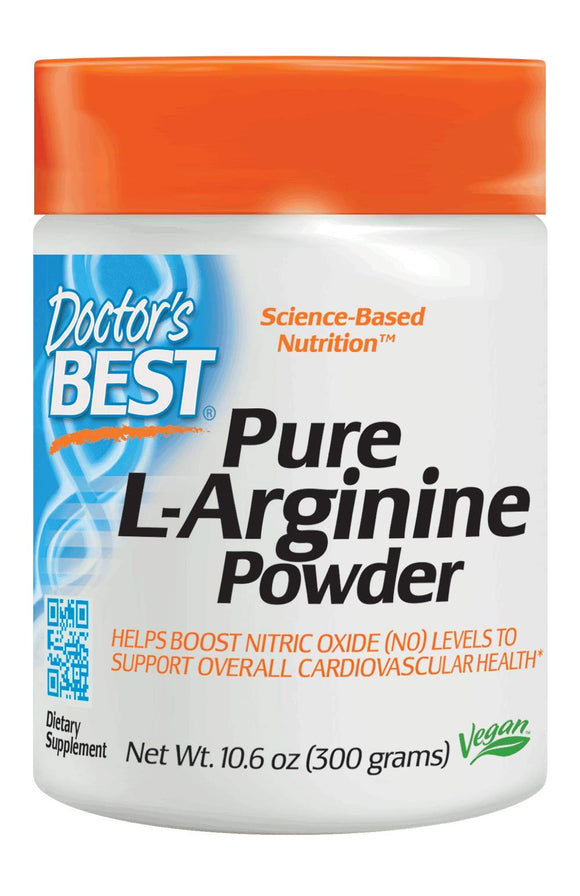 Doctor's Best L-Arginine Powder Vegan 300 Gram