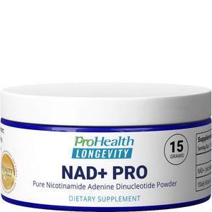 ProHealth NAD+ Pro (15 Grams) Pure Nicotinamide Adenine Dinucleotide Bioavailable Sublingual Powder | Increase Energy | Support Cognition and Mood