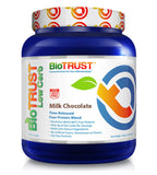 BioTrust Low Carb Natural and Delicious Protein Powder Whey & Casein Blend from Grass-Fed Hormone Free Cows | Non GMO, Soy Free, Gluten Free, Hormone & Antibiotic Free | Milk Chocolate
