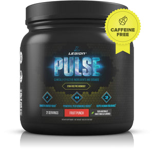 Legion Best Caffeine Free Natural Pre Workout Supplement for Women and Men