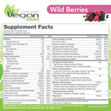 Vegansmart Plant Based Vegan Protein Powder by Naturade, All-In-One Nutritional Shake - Wild Berries 22.8 Ounce
