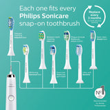 Philips Sonicare HealthyWhite+ Rechargeable Electric Toothbrush, White HX8911/02