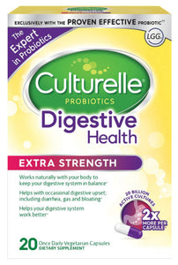 Culturelle Extra Strength Digestive Health Daily Formula, One Per Day 20s