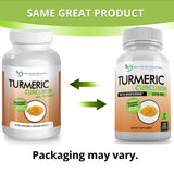 Turmeric Curcumin 2250mg/d  180 Veggie Caps  95% Curcuminoids with Black Pepper Extract (Bioperine) - 750mg Capsules - 100% Organic - Most Powerful Turmeric Supplement with Triphala