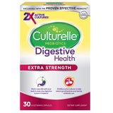 Culturelle Extra Strength Digestive Health Daily Probiotic | 30 Count|  2x Proven Probiotic