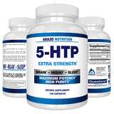Arazo Nutrition 5-HTP 200 mg Supplement 120 Capsules