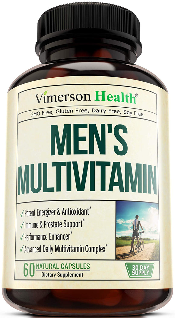 Vimerson Health Men's Daily Multimineral Multivitamin 60 Caps