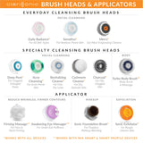 Clarisonic Radiant Skin Facial Cleansing Brush Head Replacement and Cleanser | For All Skin Types | Stocking Stuffer