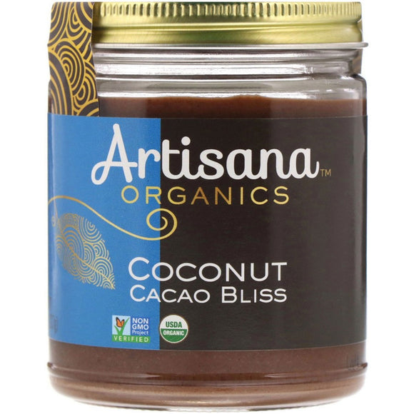 Artisana, Organics, Raw Coconut Cacao Bliss, Nut Butter 227 g