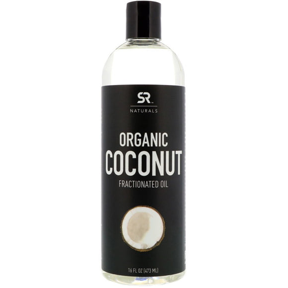 Sports Research, Organic Coconut Fractionated Oil, 16 fl oz (473 ml)
