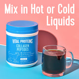 Vital Proteins Unflavored Collagen Peptides, 20 oz with Bovine Hide Collagen Peptides