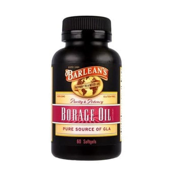 Barlean's, Borage Oil, 60 Softgels