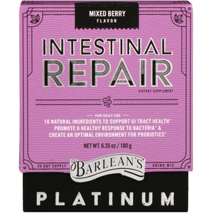 Barlean's, Platinum Intestinal Repair, Mixed Berry , 6.35 oz (180 g)