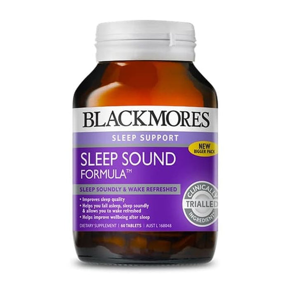 Blackmores Sleep Sound Formula 60 Tablets