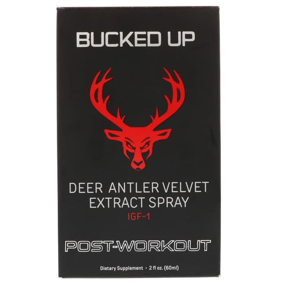 Bucked Up, Deer Atler Velvet Extract Spray, Post Workout, 2 oz (60 ml)