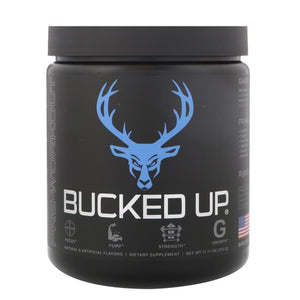 Bucked Up, Pre-Workout, Blue Raz, 11.11 oz (315 g)