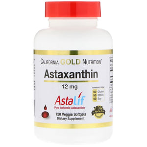 California Gold Nutrition,Astaxanthin,Extra Strength Antioxidant 120C