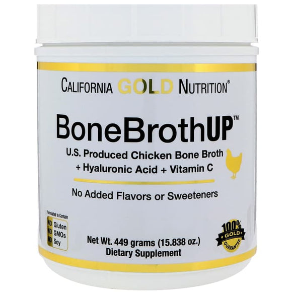 California Gold Nutrition,BoneBrothUp Protein,chicken bone broth, 449