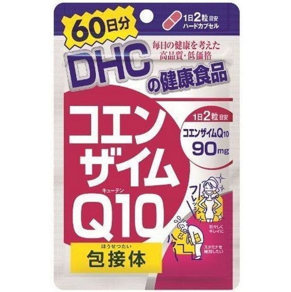 DHC Coenzyme Q 10 CoQ10 90mg inclusion body 120 Tablet ORI JAPAN
