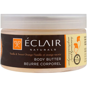 Eclair Naturals, Body Butter, Vanilla & Sweet Orange, 4 oz (113 g)