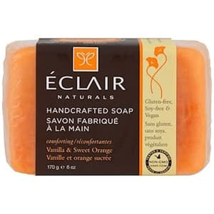Eclair Naturals, Handcrafted Soap, Vanilla&Sweet Orange, 6 oz (170 g)