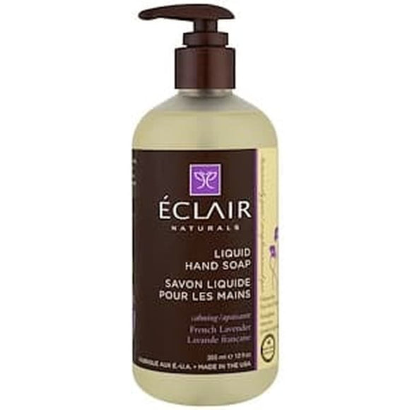 Eclair Naturals, Liquid Hand Soap, French Lavender, 12 fl oz (355 ml)
