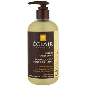 Eclair Naturals, Liquid Hand Soap, Shea Butter&Oatmeal, 12 fl (355 ml)