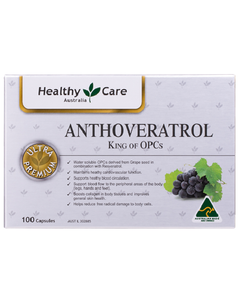 Healthy Care Anthoveratrol King of OPCs 100 Capsules
