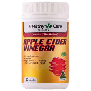 Healthy Care Apple Cider Vinegar 120 caps