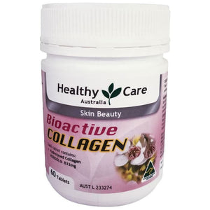 Healthy Care Bioactive Collagen, 60 Tablets