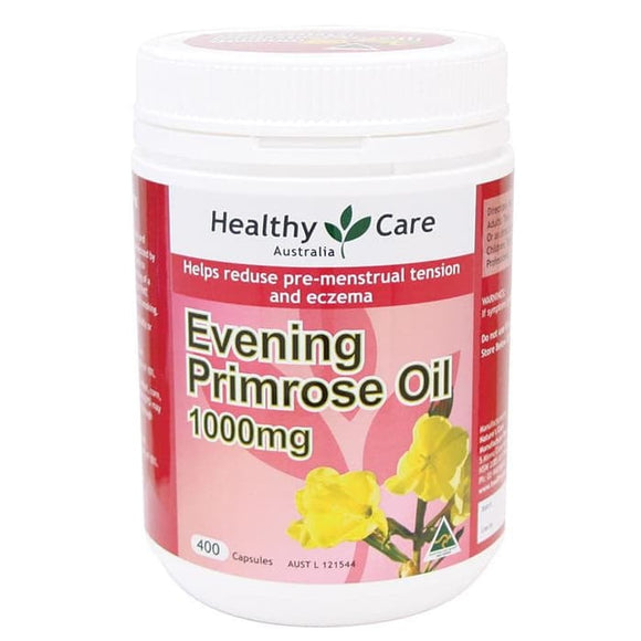 Healthy Care Evening Primrose Oil 1000mg, 400 Capsules