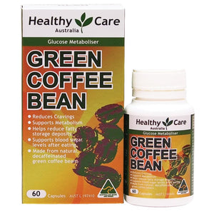 Healthy Care Green Coffee Bean Metabolisme Diet Pelangsing 60 Capsules