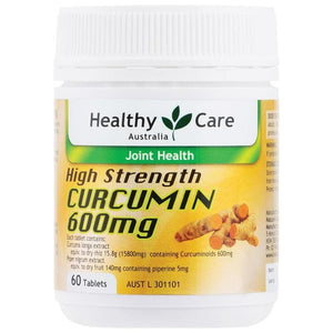 Healthy Care High Strength Curcumin, 60 Tablets