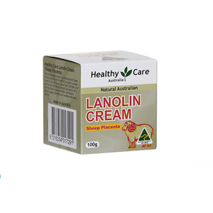 Healthy Care Lanolin Cream with Sheep Placenta, 100g