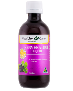 Healthy Care Resveratrol Liquid, 200ml