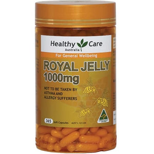 Healthy Care Royal Jelly 1000, 365 Soft Capsules