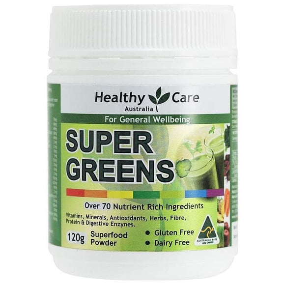 Healthy Care Super Greens, 120g