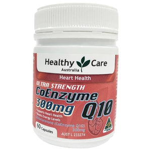 Healthy Care Ultra Strength CoEnzyme Q10 300mg, 60 Capsules
