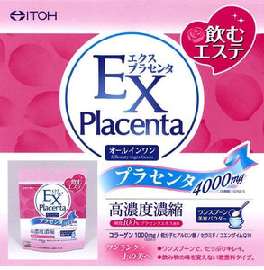 ITOH EX Placenta 4000mg 90gram JAPAN hyaluronic acid, collagen, Beauty