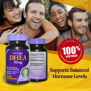 Natrol DHEA 50 mg 60 Tablet