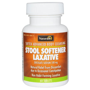 Naturade, Softex Advanced Body Cleansing, Stool Softener Laxative