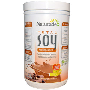 Naturade, Total Soy, Meal Replacement, Bavarian Chocolate, (507 g)