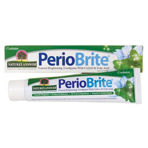 Nature's Answer, PerioBrite, Natural Whitening Toothpaste, Mint, 113g