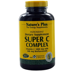 Nature's Plus, Super C Complex, 180 Veggie Caps