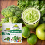 Natures Way Super Foods Super Greens Plus High Nutrient Powder 300 gr