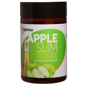Next Generation Apple Slim Apple Cider Vinegar, Garcinia 60 Veg Caps