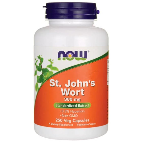 Now Foods, St. John's Wort, 300 mg, 250 Veg Capsules