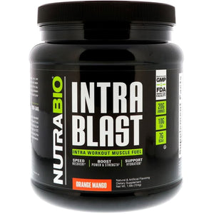 NutraBio Labs, Intra Blast, Orange Mango, 1.6 lb (724 g)