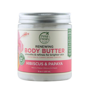 Petal Fresh Body Butter, Hibiscus Papaya, 8 Ounce, 237 ml