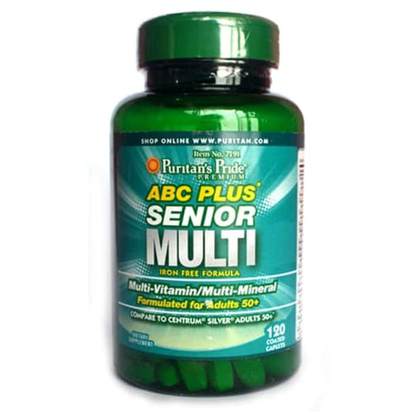 Puritan's Pride ABC Plus Senior Multivitamin Multi-Mineral Formula 60